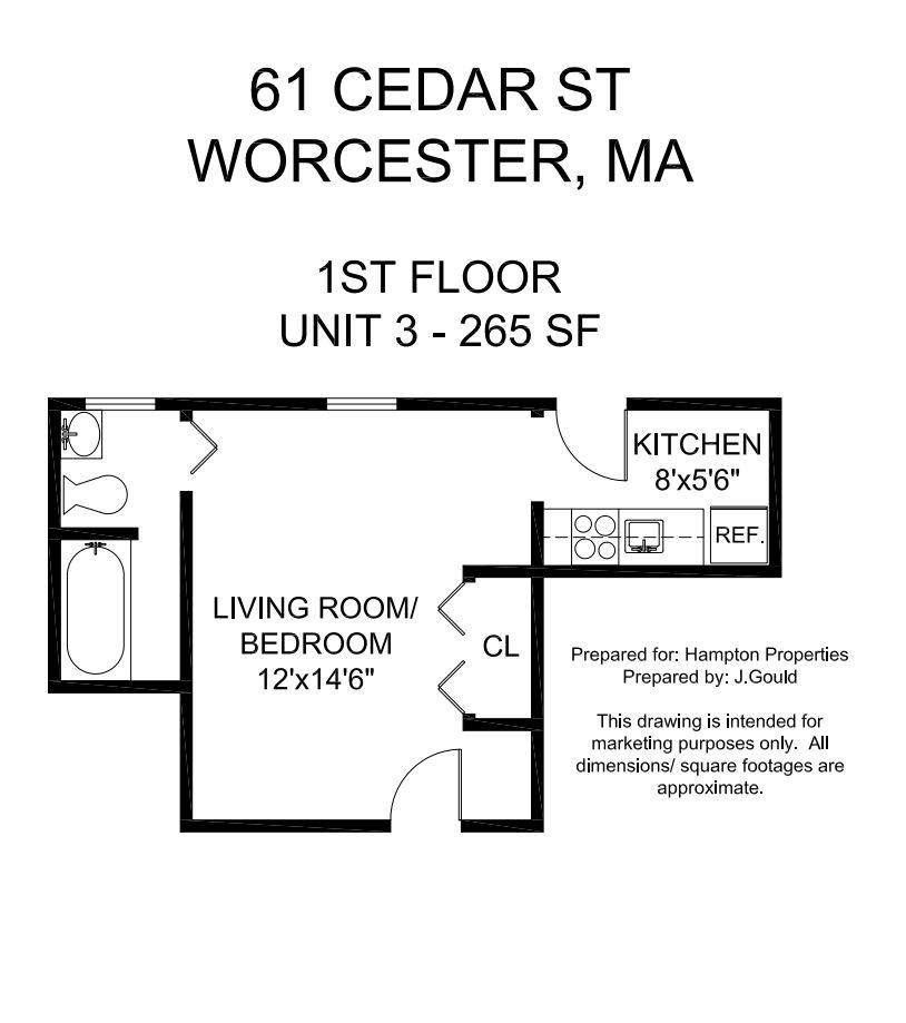 Cedar Street Apartments: Hampton Properties, LLC